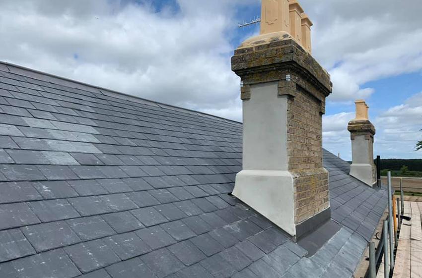 Lime Render & Plastering 2, ELC Roofing, Sudbury, Ipswich, Saffron Walden