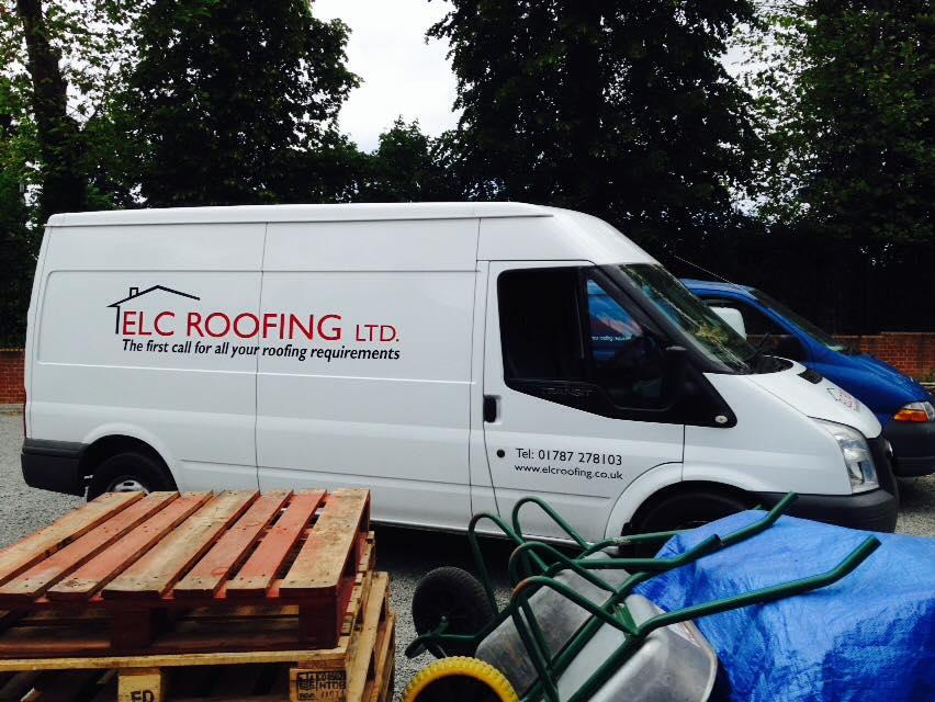 elc roofing van