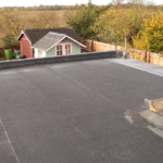 happy customer for flat roof